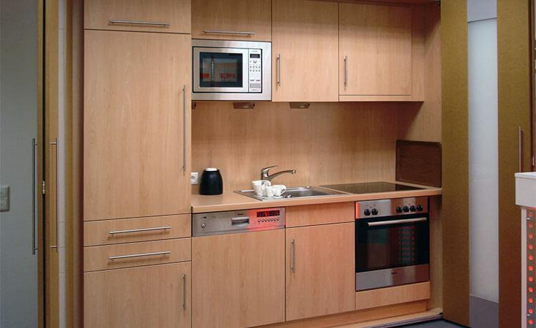 Schrankküche büro  Schrankküche mit voller Ausstattung