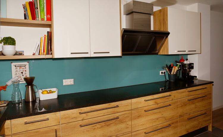 u k che von schreinerei binder in gersthofen bei augsburg. Black Bedroom Furniture Sets. Home Design Ideas